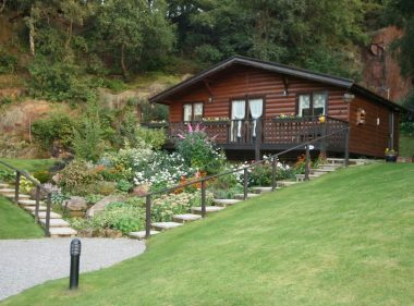 Holiday Lodge, with Garden