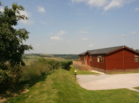 Holiday Lodge with great views of the Yorkshire Dales