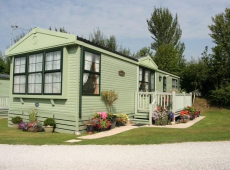 Luxury Caravans at Reynard Crag Park